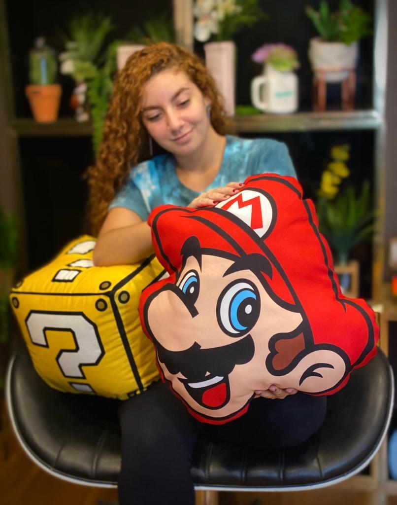 Almofada Geek Mario: Super Mario Bros