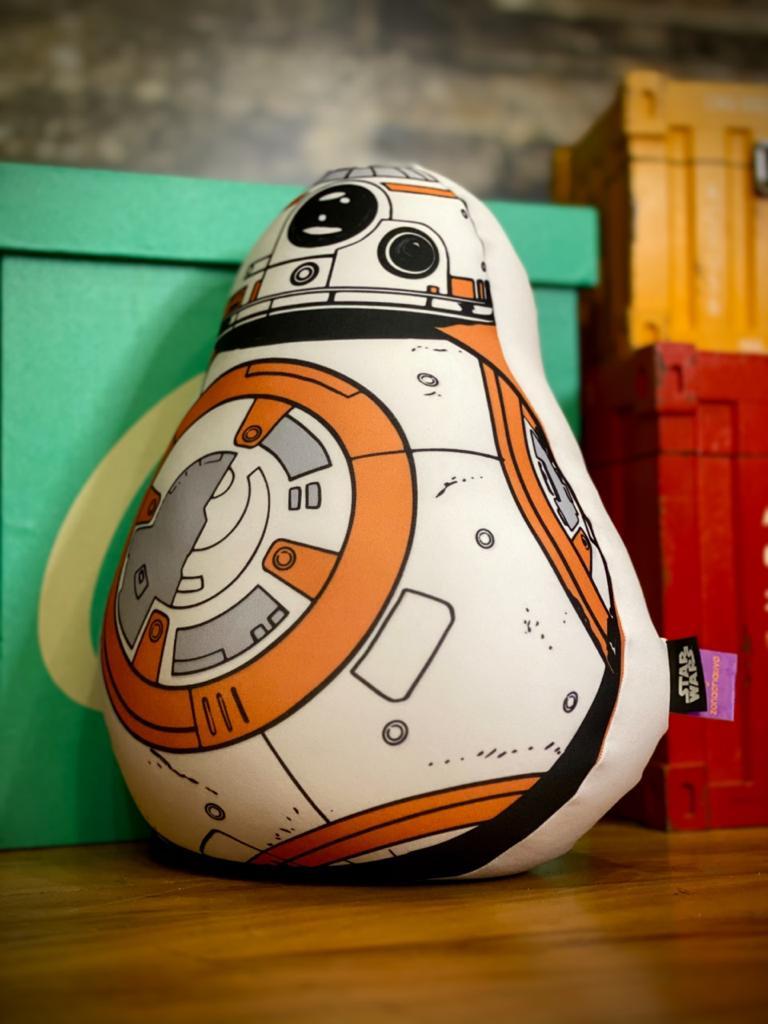 Almofada Geek Microperolas Droide BB-8: Star Wars