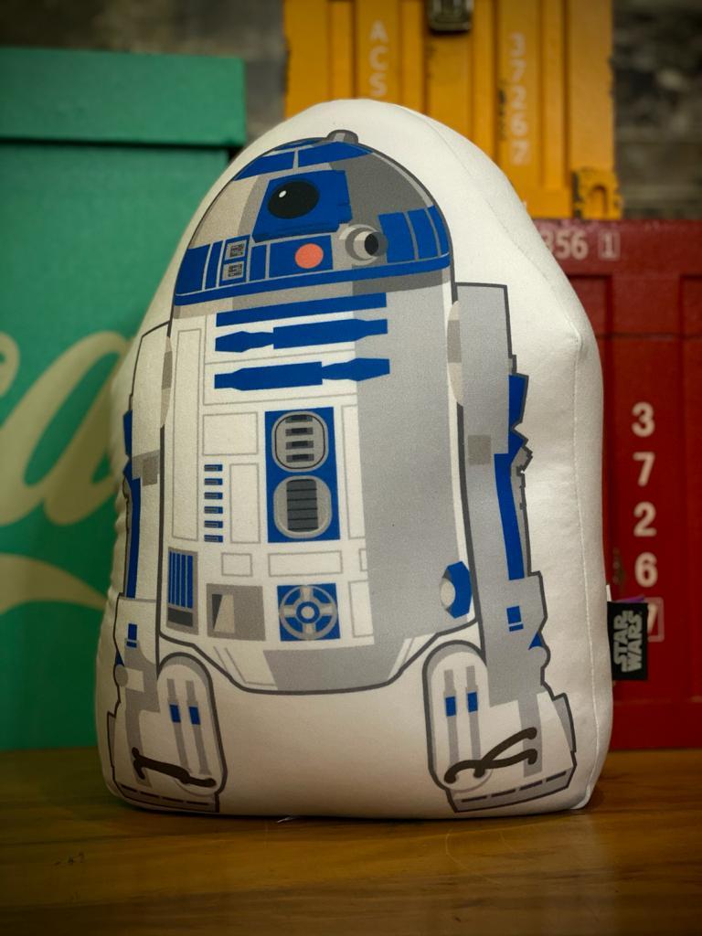 Almofada Geek Microperolas Droide R2D2: Star Wars