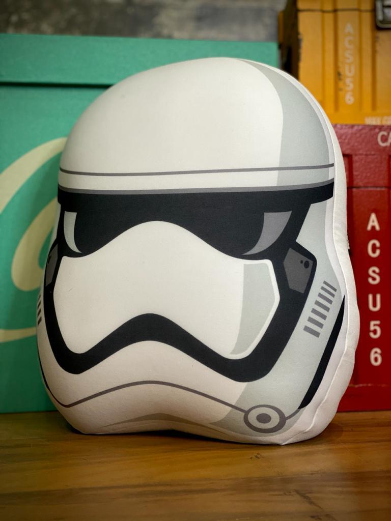 Almofada Geek Microperolas Stormtrooper: Star Wars