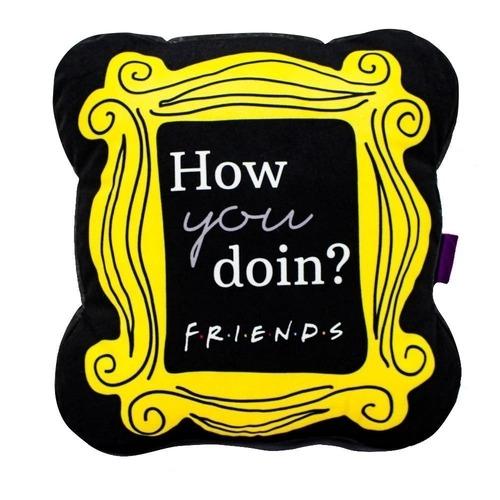Almofada Geek Moldura How You Doin?: Friends