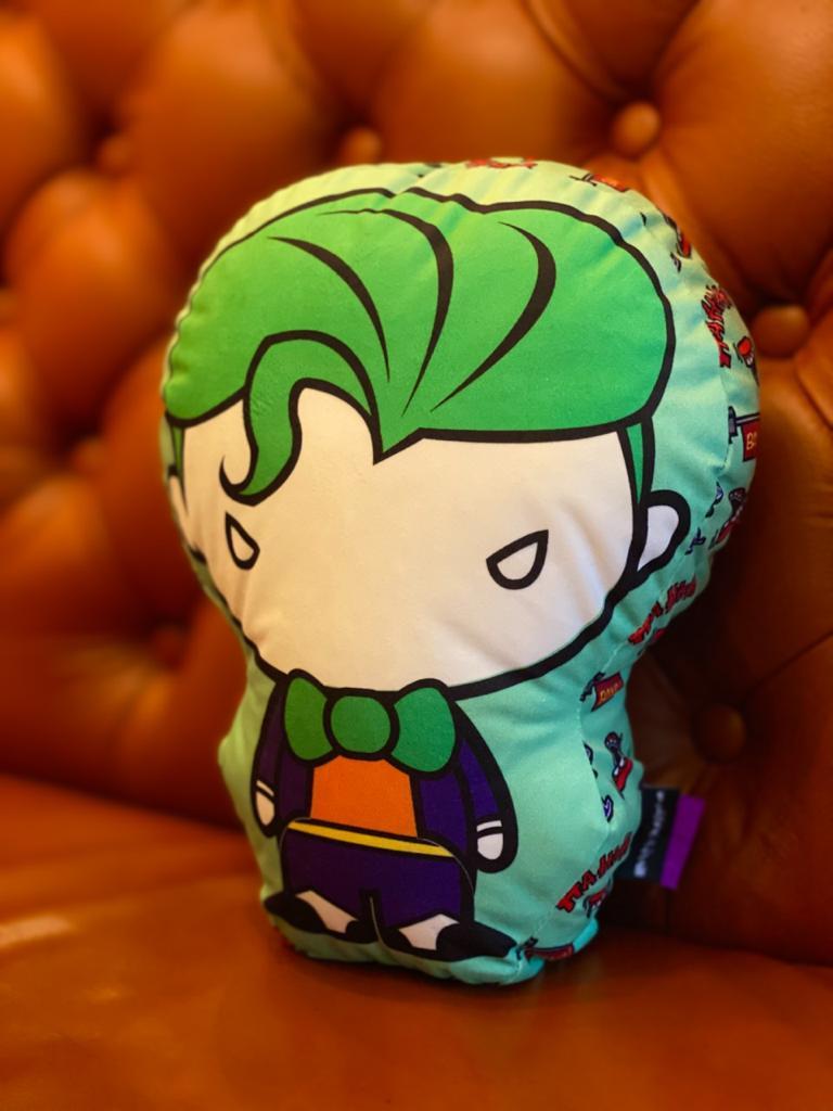 Almofada Geek Personagem Coringa Joker: Dc Comics