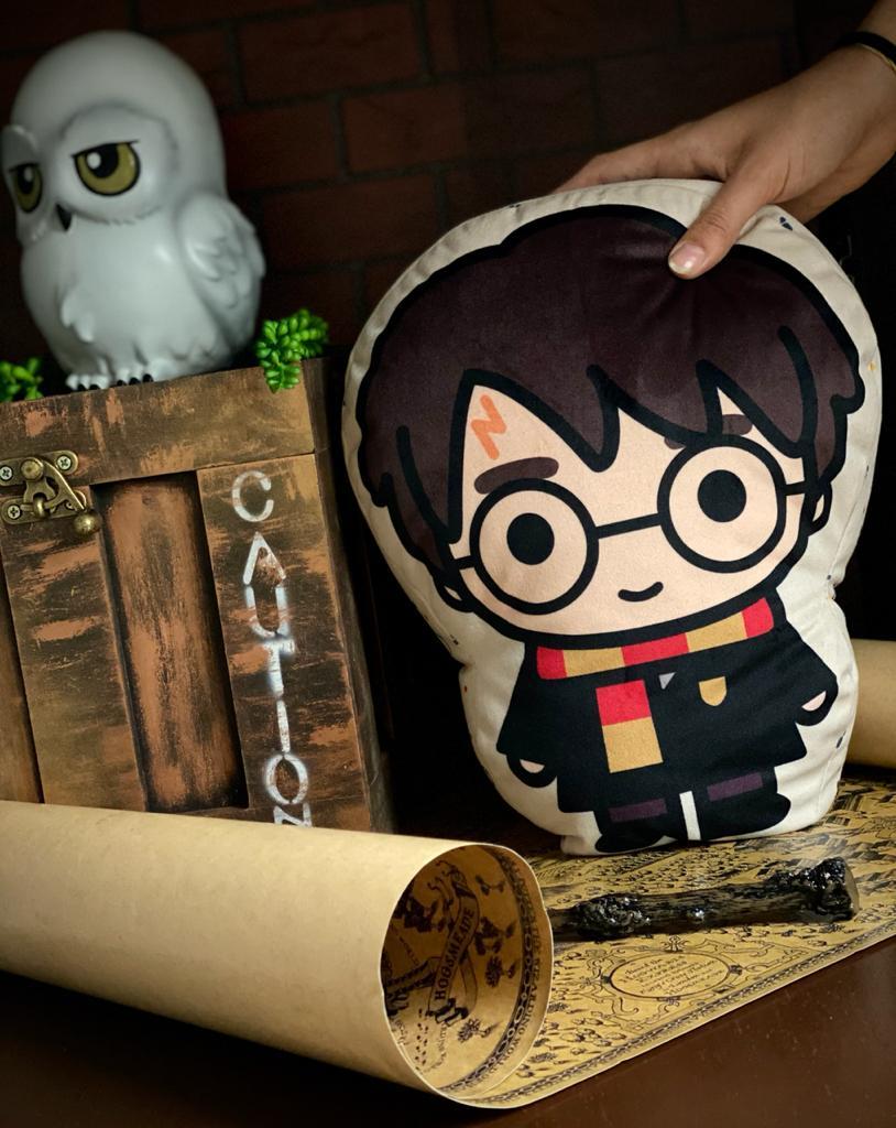Almofada Geek Personagem Harry Potter: Harry Potter