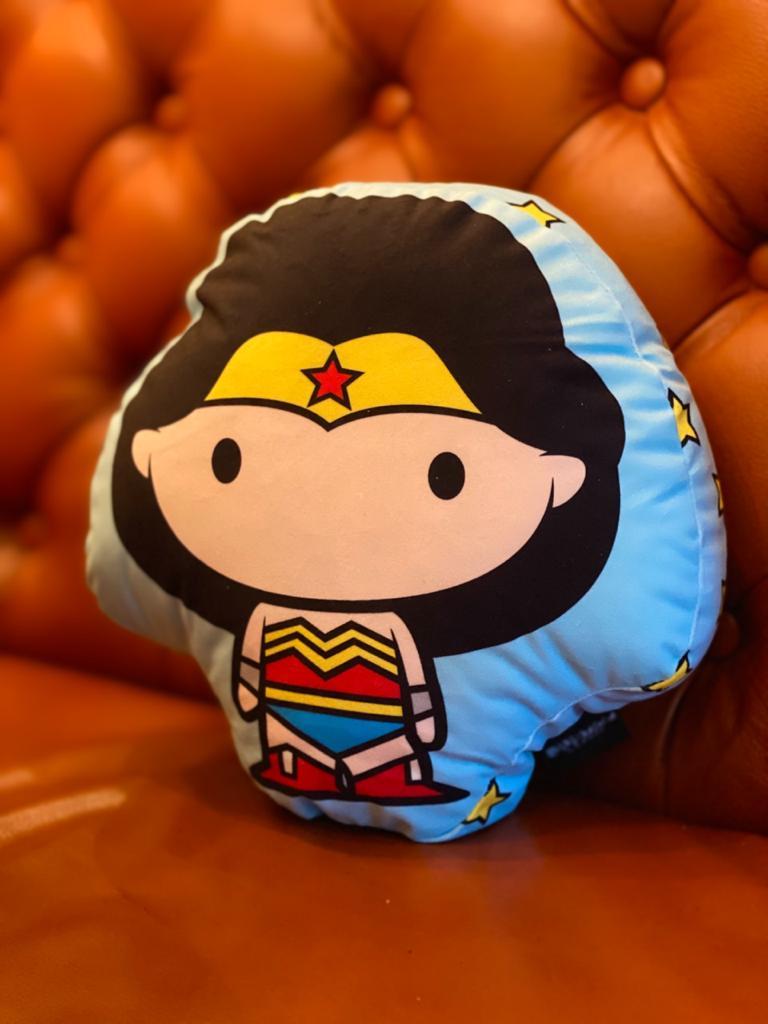Almofada Geek Personagem Mulher Maravilha Wonder Woman: Dc Comics