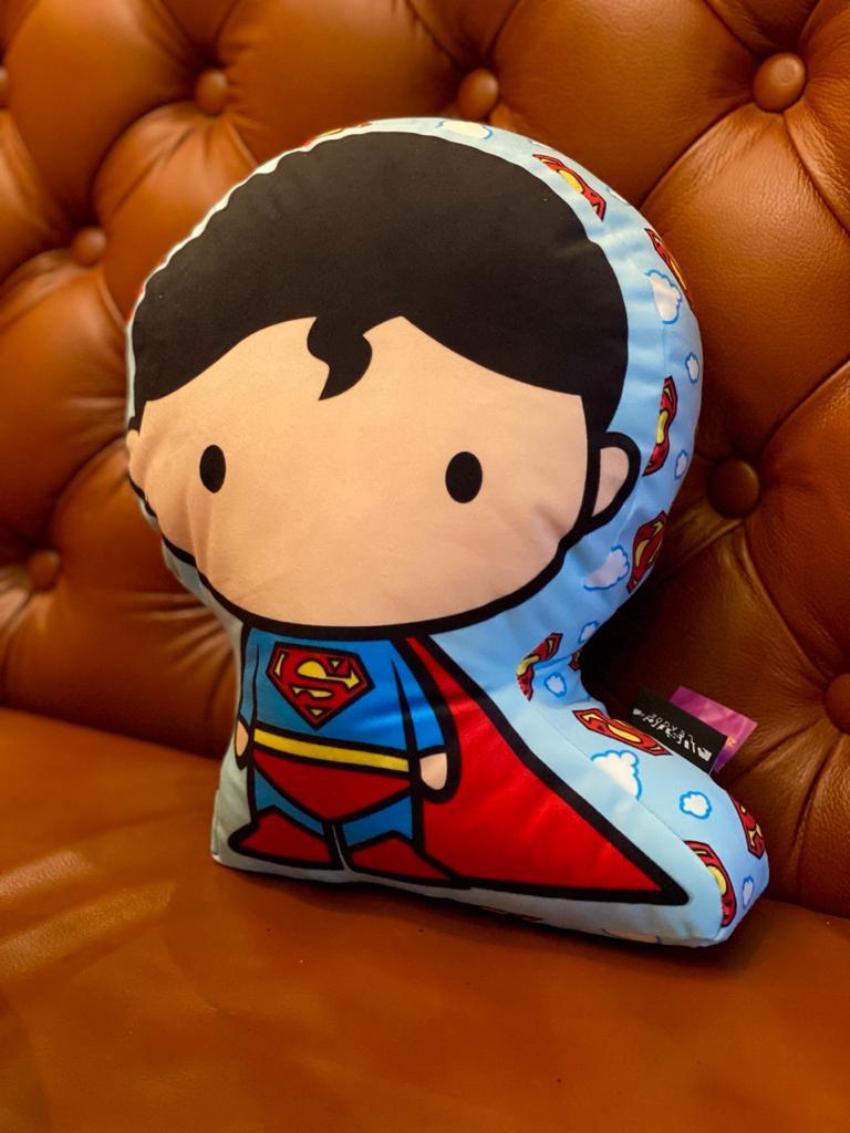 Almofada Geek Personagem Super Homem Superman: Dc Comics
