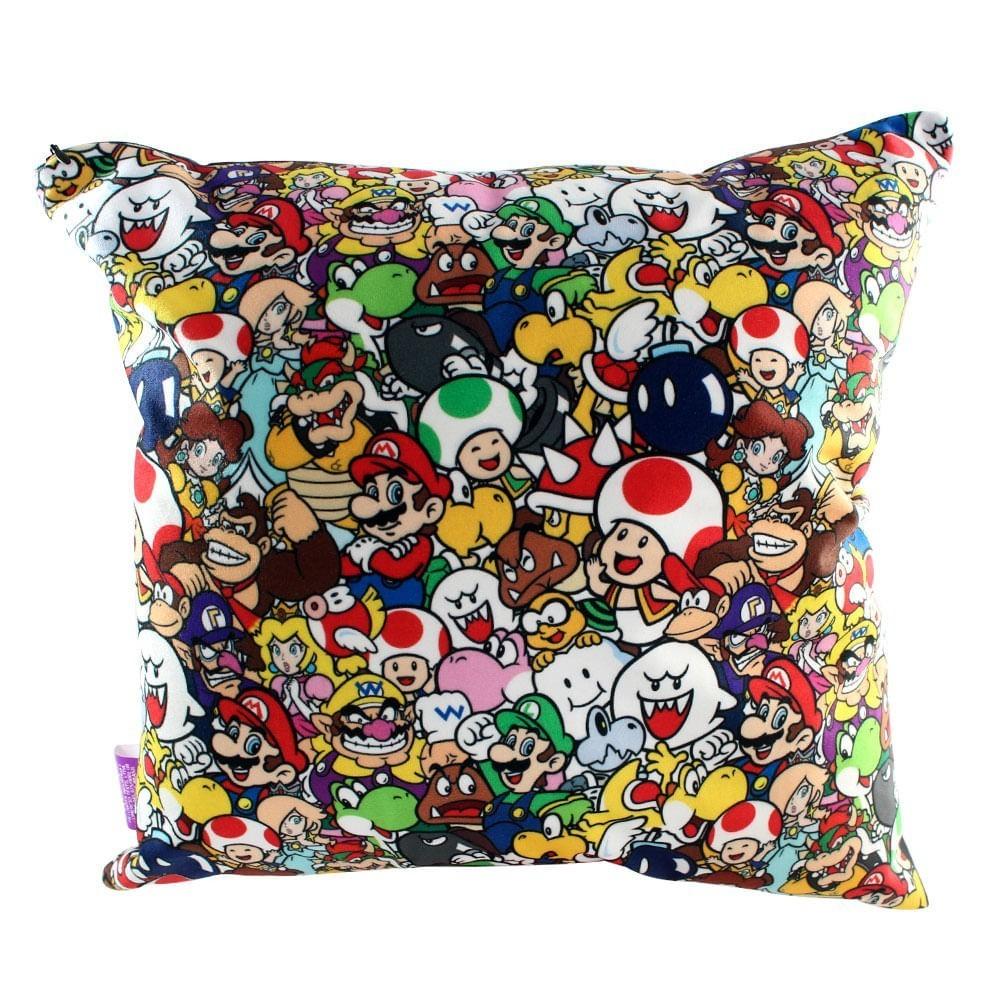 Almofada Geek: Super Mario Wolrd