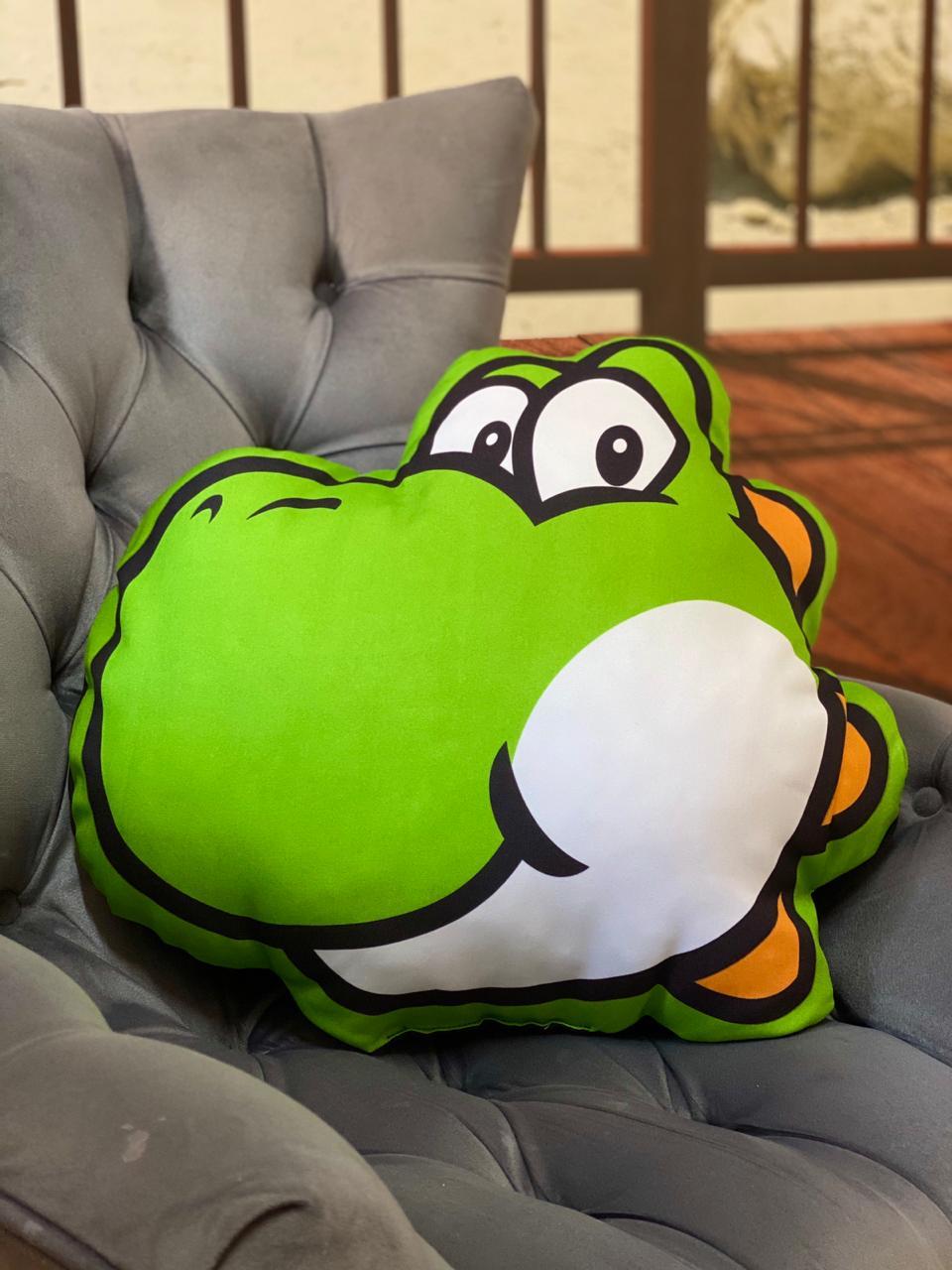 Almofada Geek Yoshi: Super Mario Bros - EV