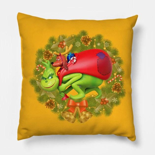 Almofada Grinch Animação Árvore de Natal Christmas: O Grinch - MKP
