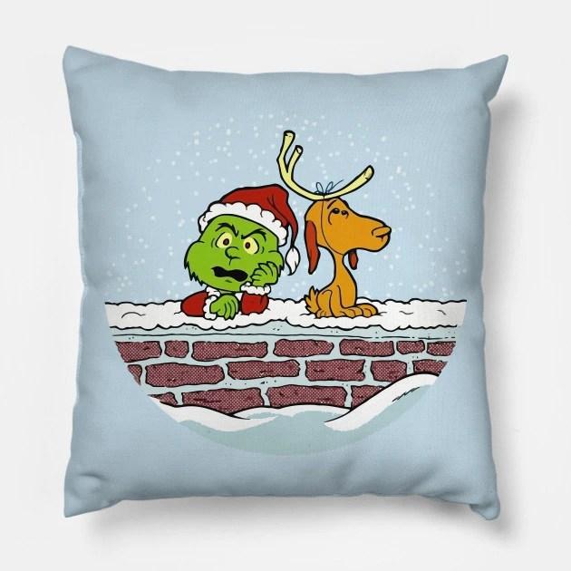Almofada Grinch Animação Natal Christmas: O Grinch - MKP