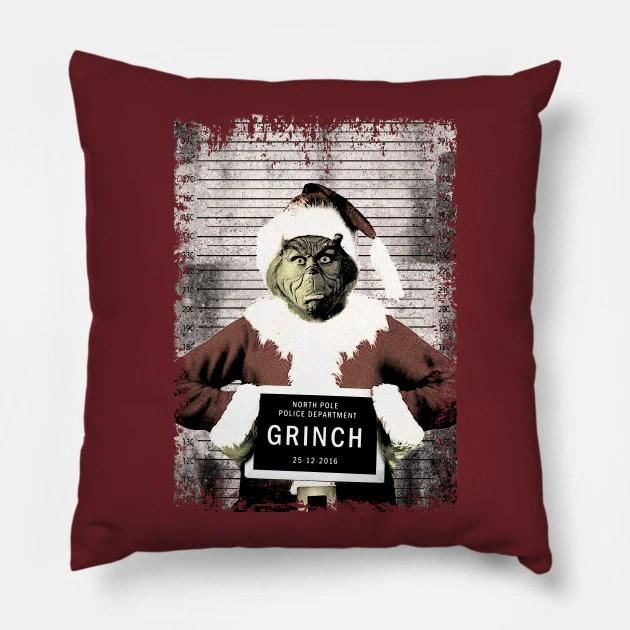 Almofada Grinch Cadeia Prisão Natal Christmas: O Grinch - MKP