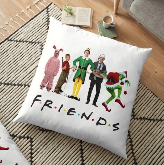 Almofada Grinch Friends Natal Christmas - MKP