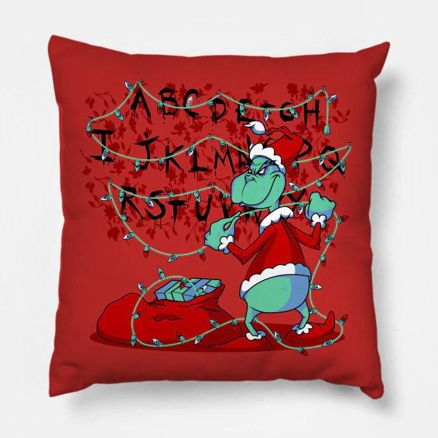 Almofada Grinch Luzes Stranger Things Natal Christmas: O Grinch - MKP
