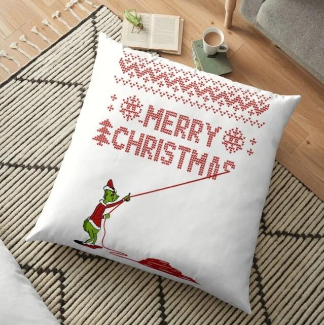 Almofada Grinch Merry Christmas Natal Christmas: O Grinch - MKP