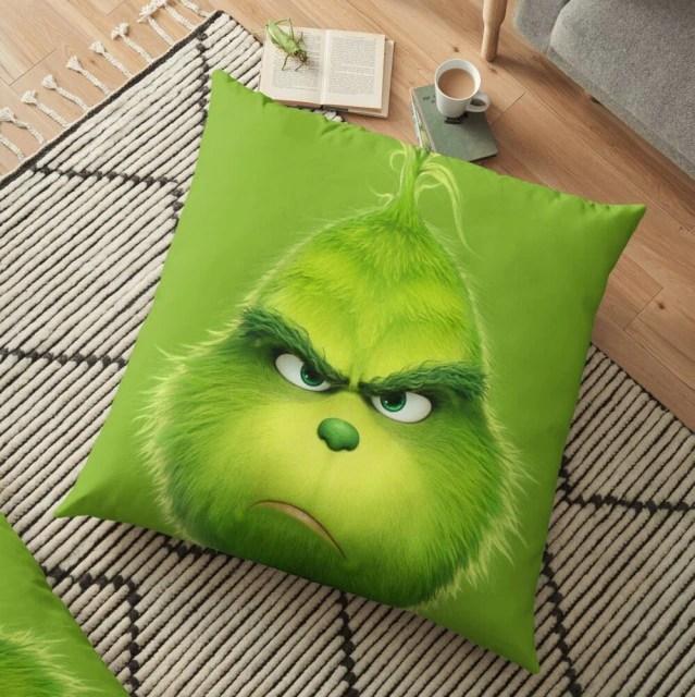 Almofada Grinch Rosto Grinch Natal Christmas: O Grinch - MKP