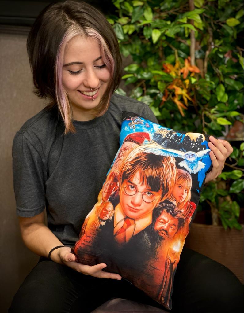 Almofada harry Potter Personagens: Harry Potter e a Pedra Filosofal  - EV