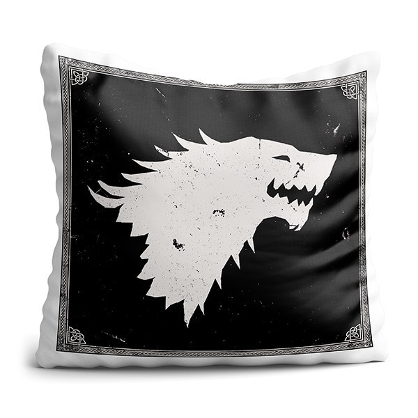 Almofada House Lobo: Game of Thrones