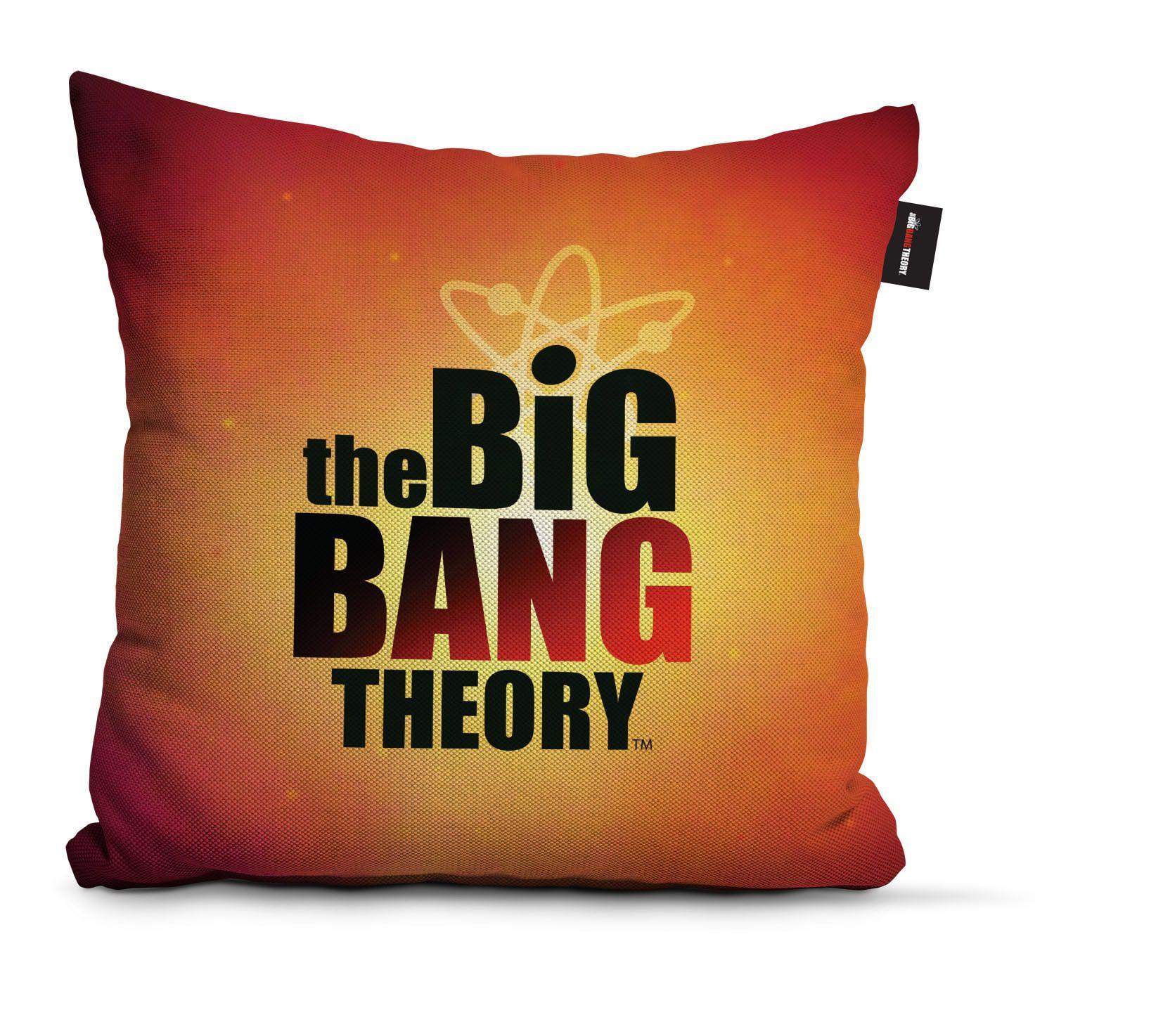 Almofada Laranja: Big Bang Theory - Urban