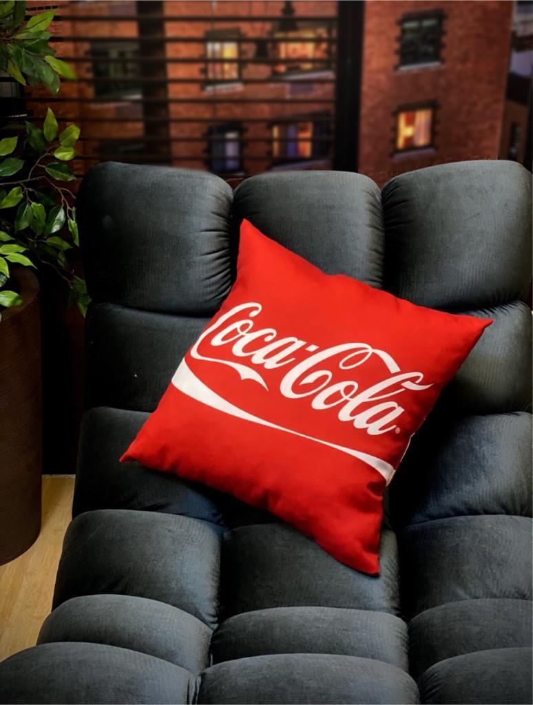Almofada Logo Coca-Cola