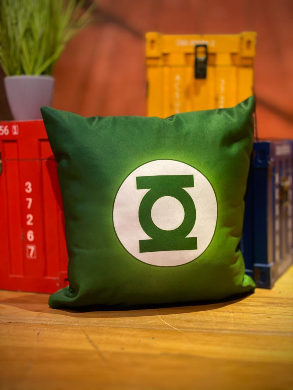 Almofada Logo Green Lantern (Lanterna Verde):
