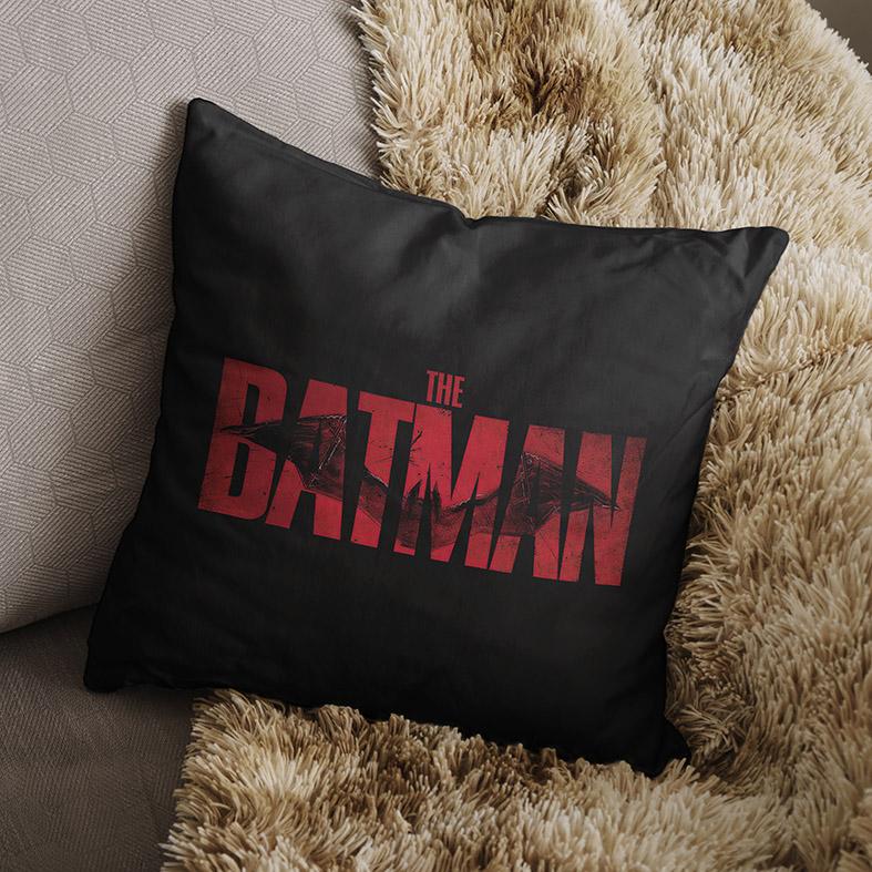Almofada Logo The Batman DC Comics (Preta) - EV
