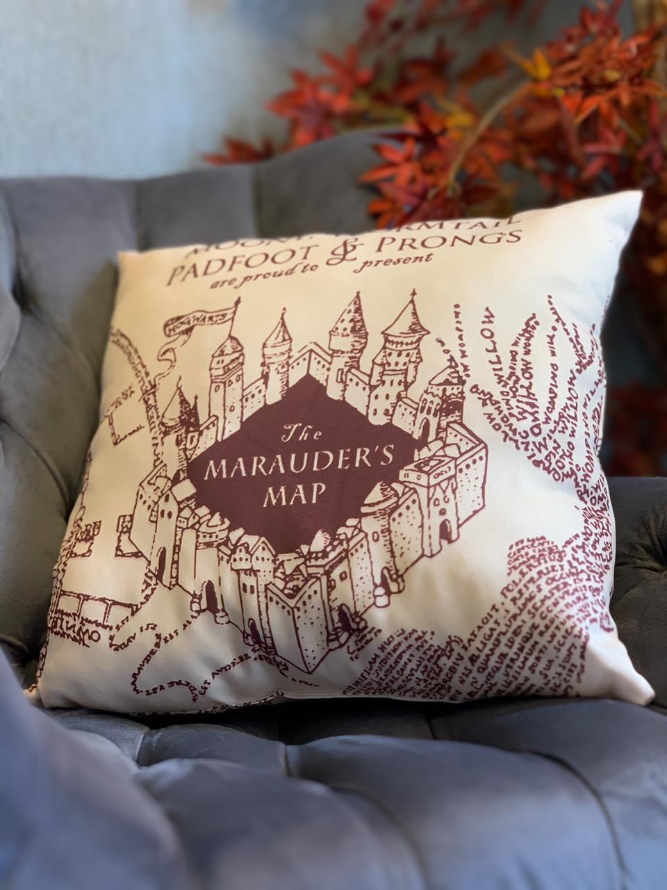 Almofada Geek: Mapa do Maroto: Harry Potter