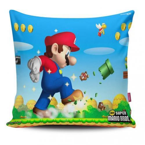 Almofada Mario: New Super Mario Bros.