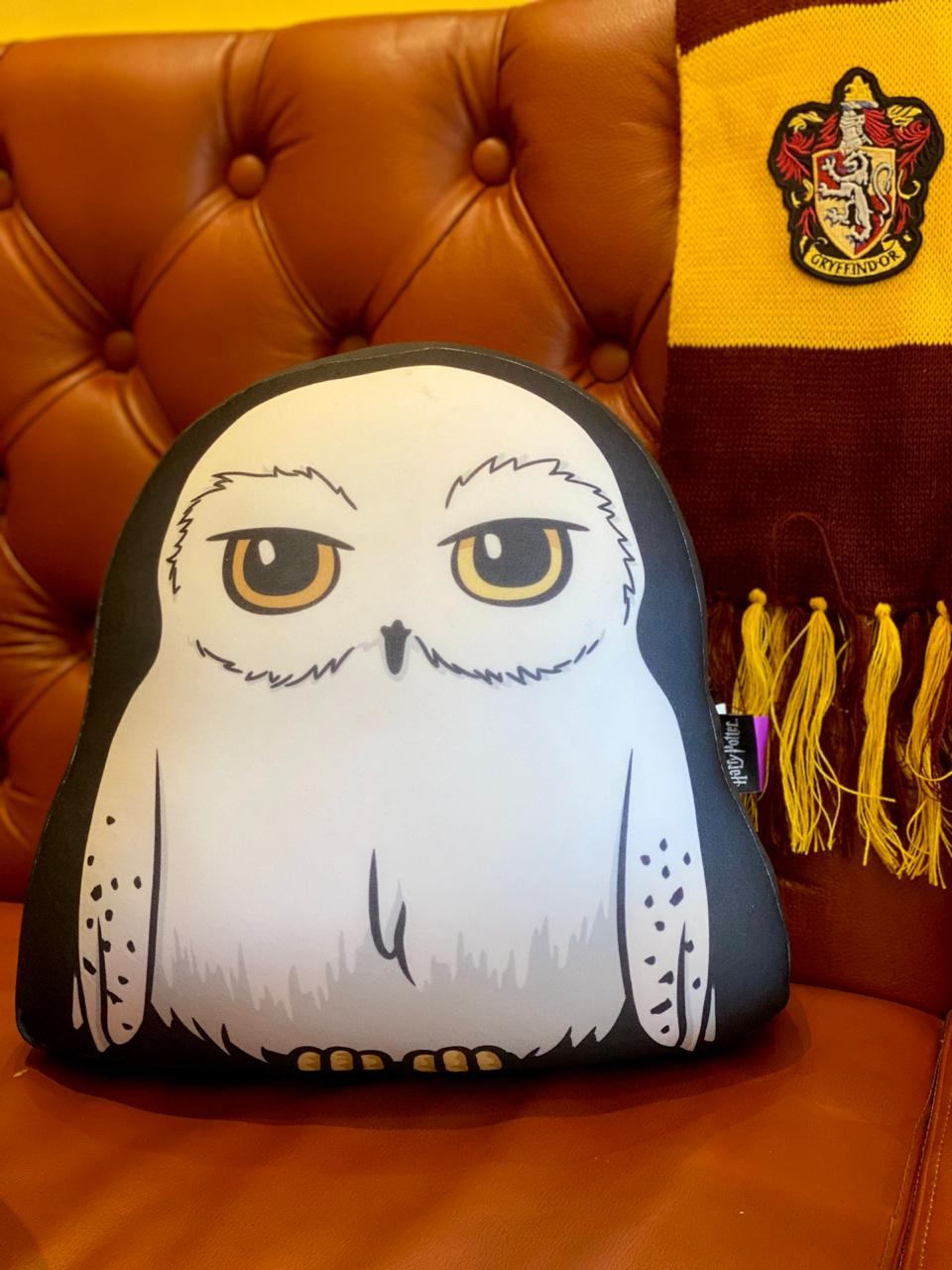 Almofada Microperolas Edwiges Hedwing: Harry Potter 35cm