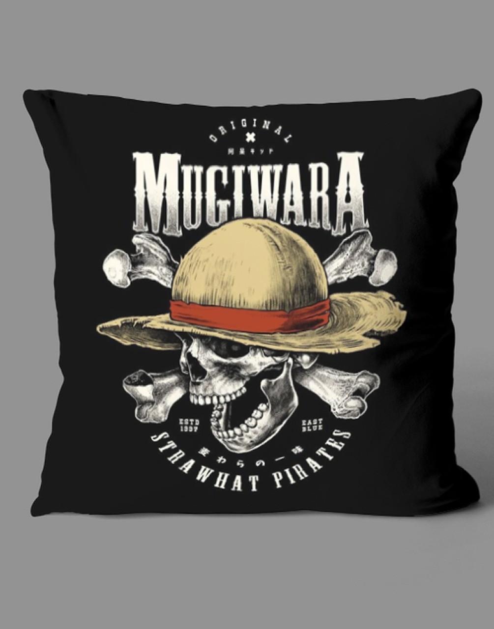 Almofada Mugiwara Strawhat Pirates Monkey D. Luffy: One Piece - EV