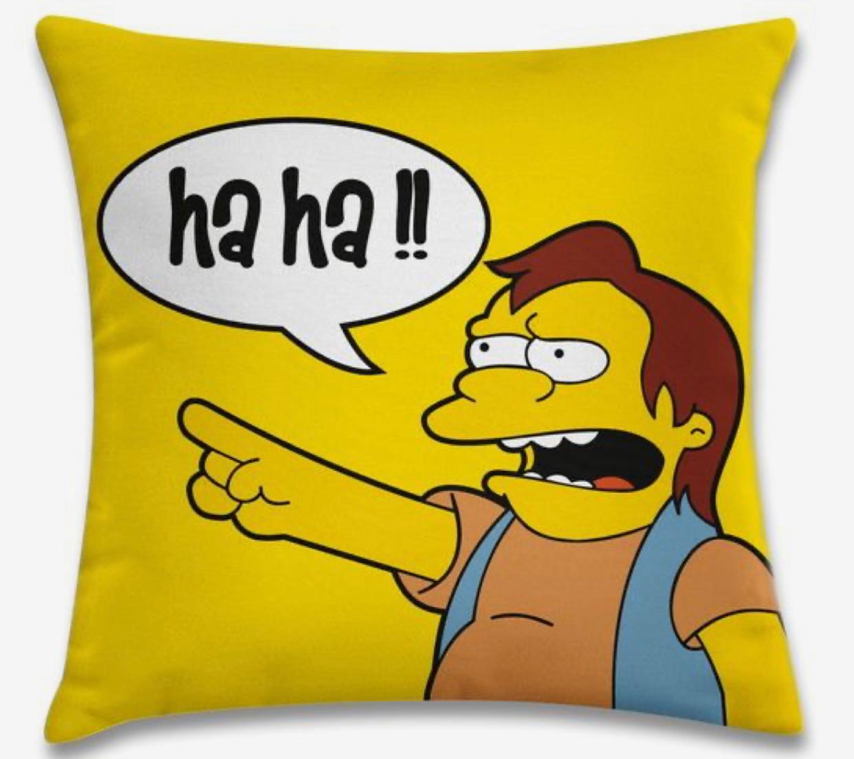 Almofada Nelson Muntz: Simpsons