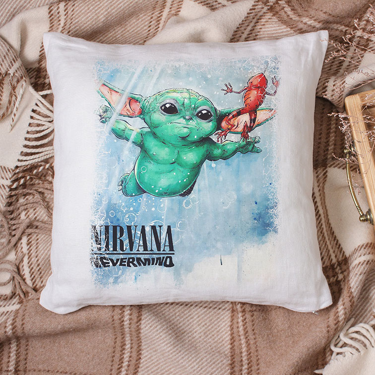 Almofada Nirvana Nevermino (Branca)
