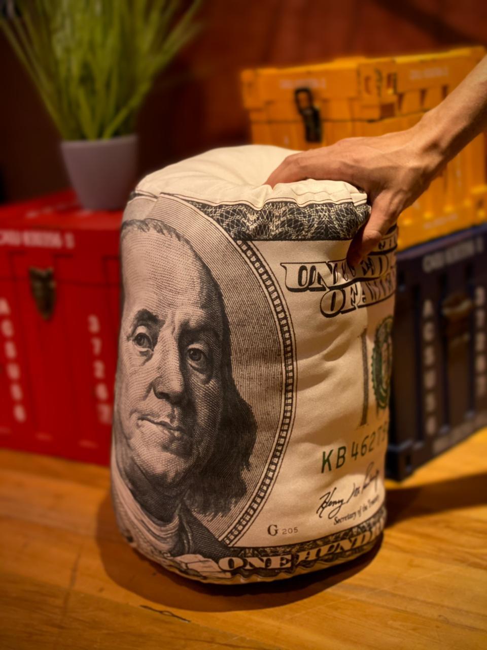 Almofada Nota Dólar - EV