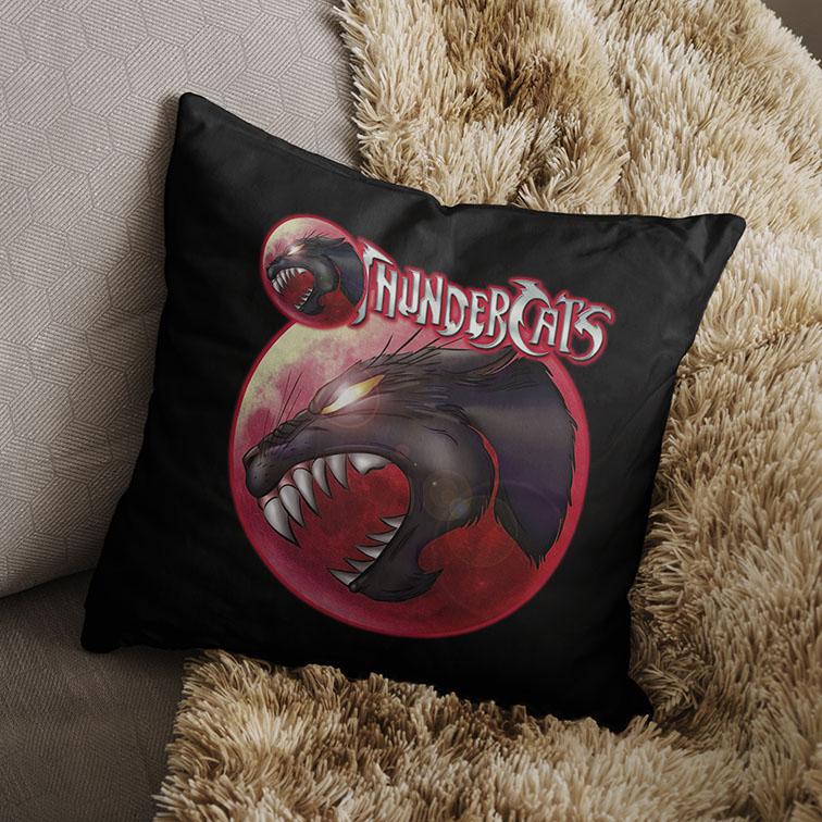 Almofada Olho De Thundera: Thundercats (Preta) - EV