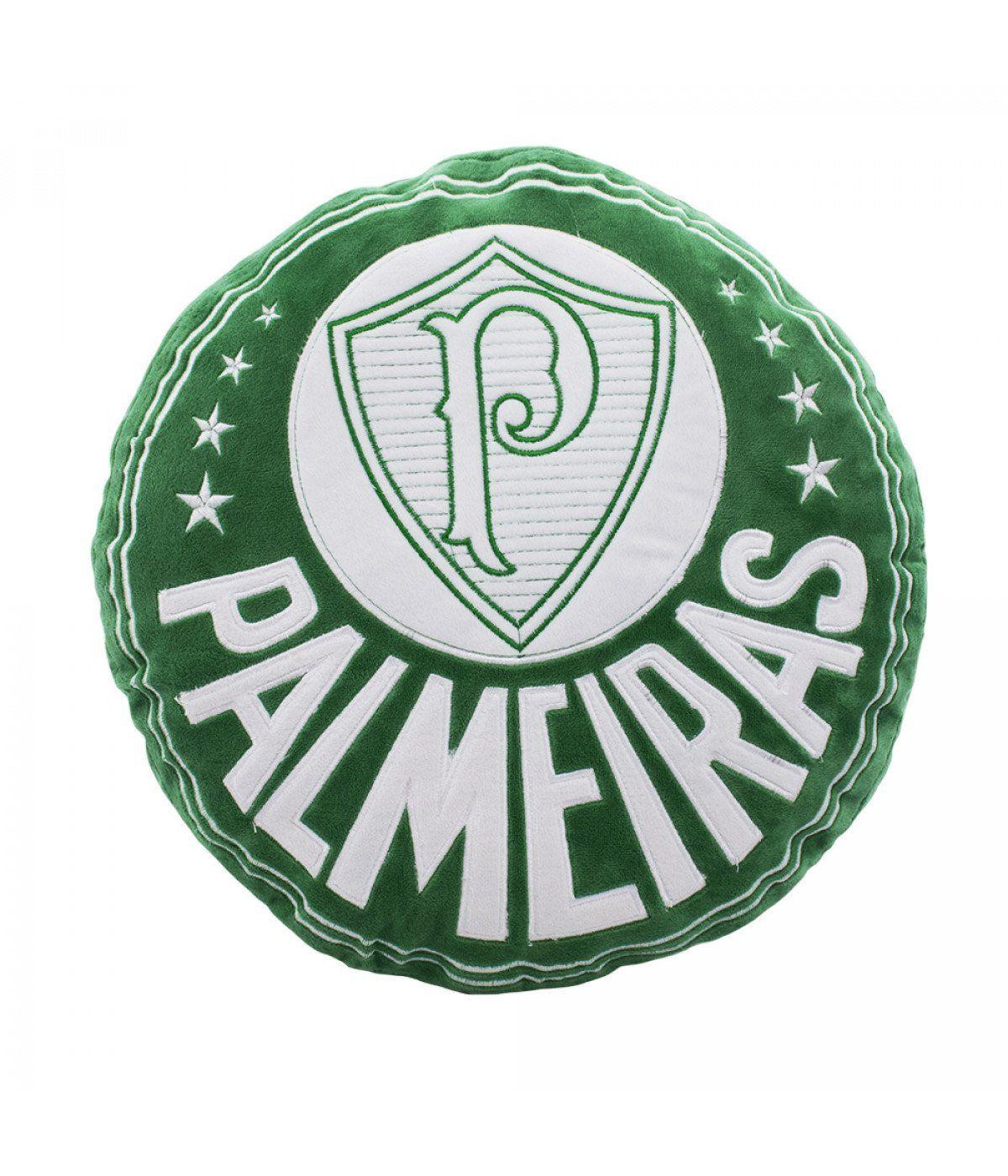 Almofada Palmeiras Brasão