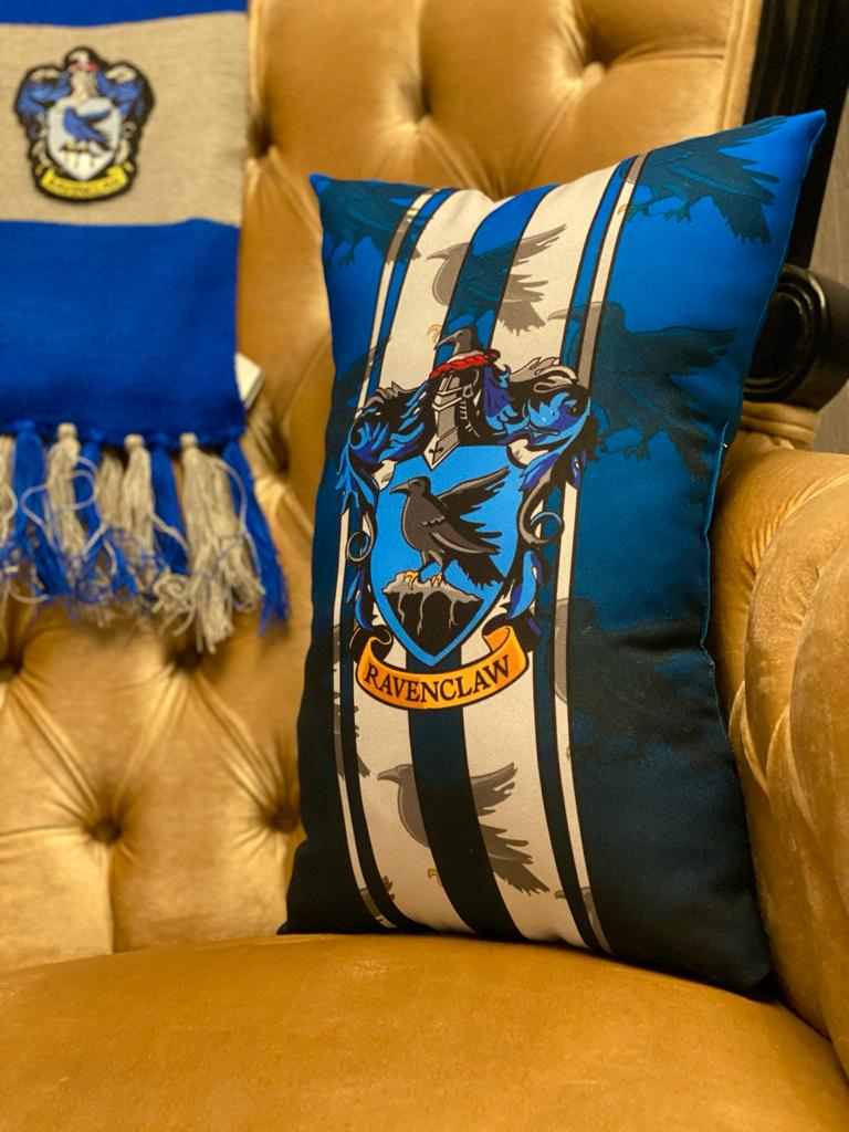 Almofada Pequena Corvinal (Ravenclaw): Harry Potter