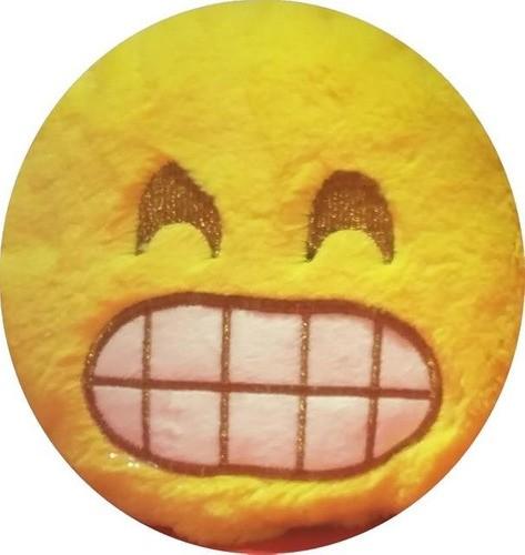 Almofada Pequena Emoji Sorridente