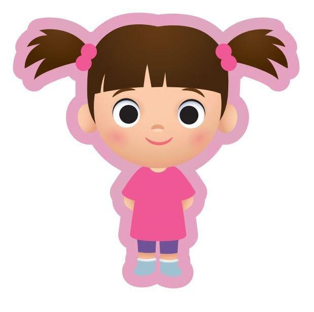Almofada Personagem Boo: Monstros S.A - Disney Pixar