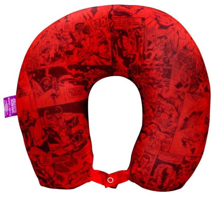 Almofada Pescoço Logo Marvel