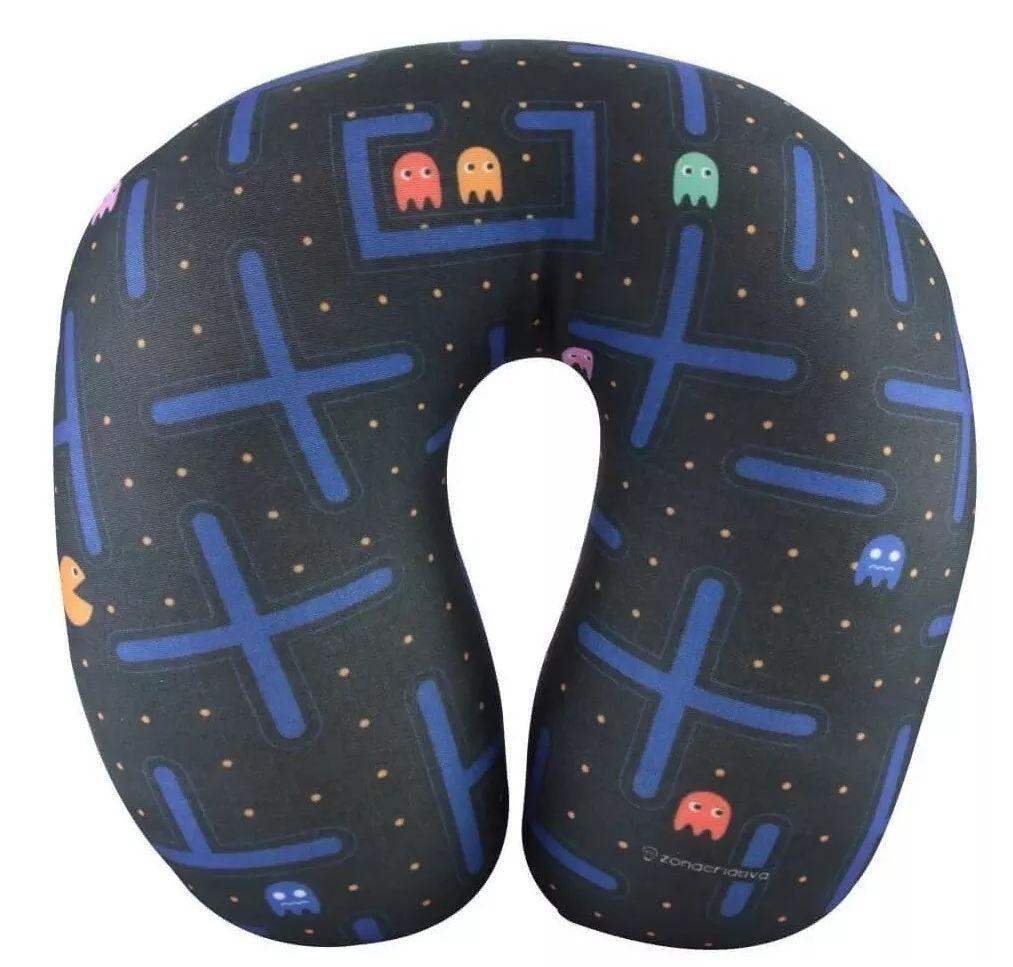 Almofada Pescoço Pac-Man