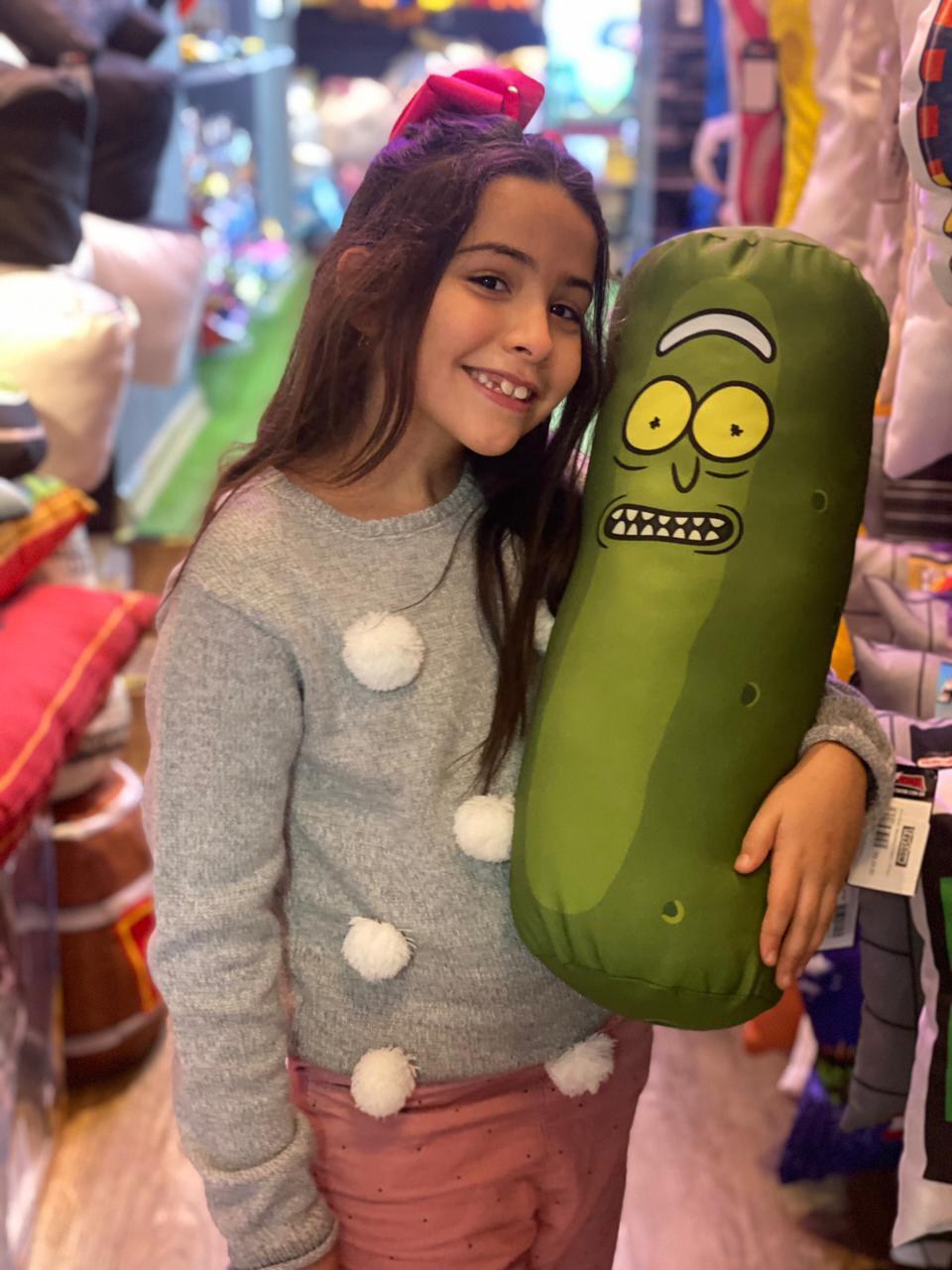 Almofada Picles / Pickle Rick: Avô e Neto - EV