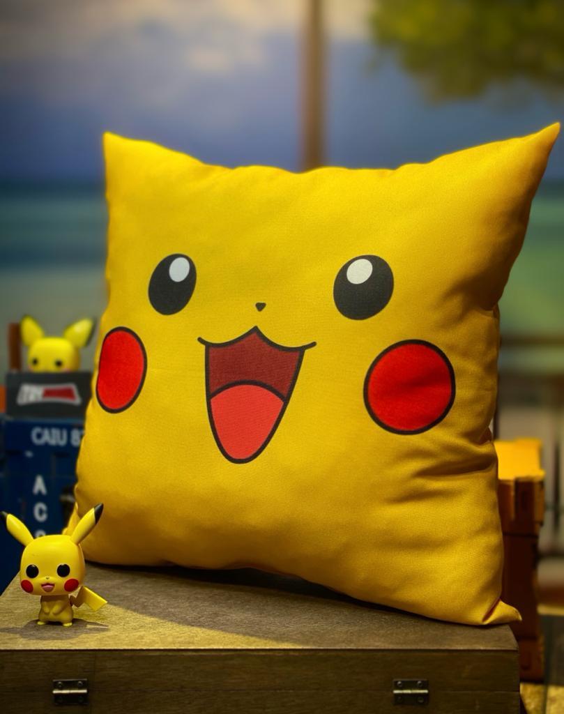 Almofada Pikachu: Pokemon - SD
