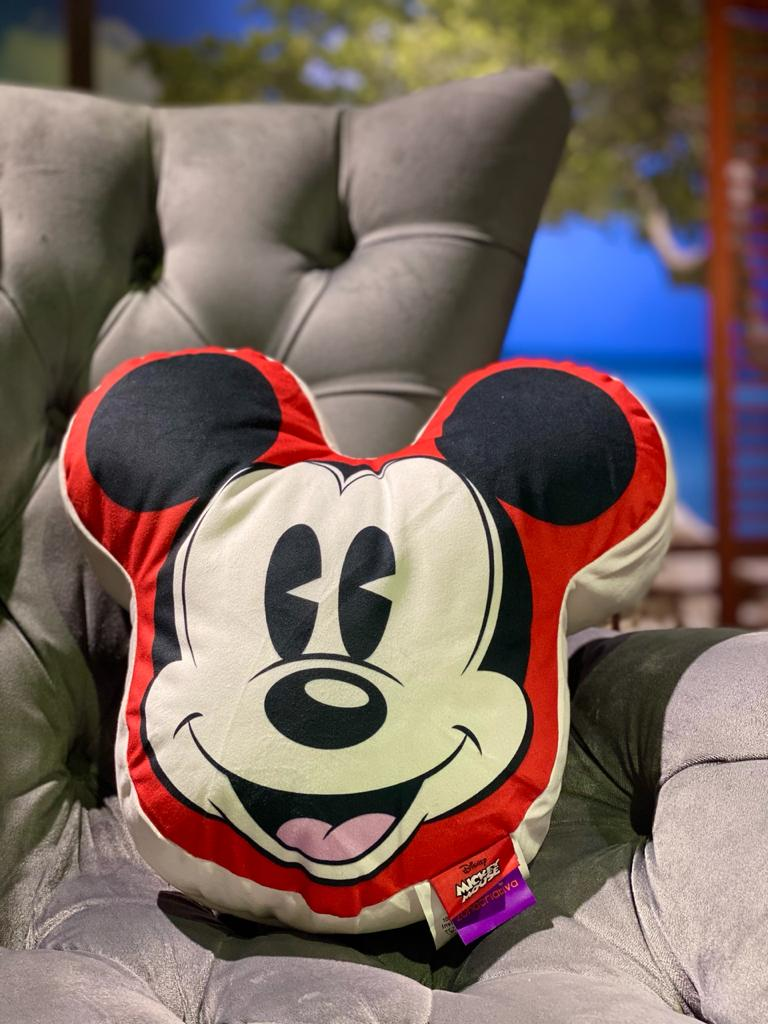 Almofada Rosto Mickey Mouse - Disney