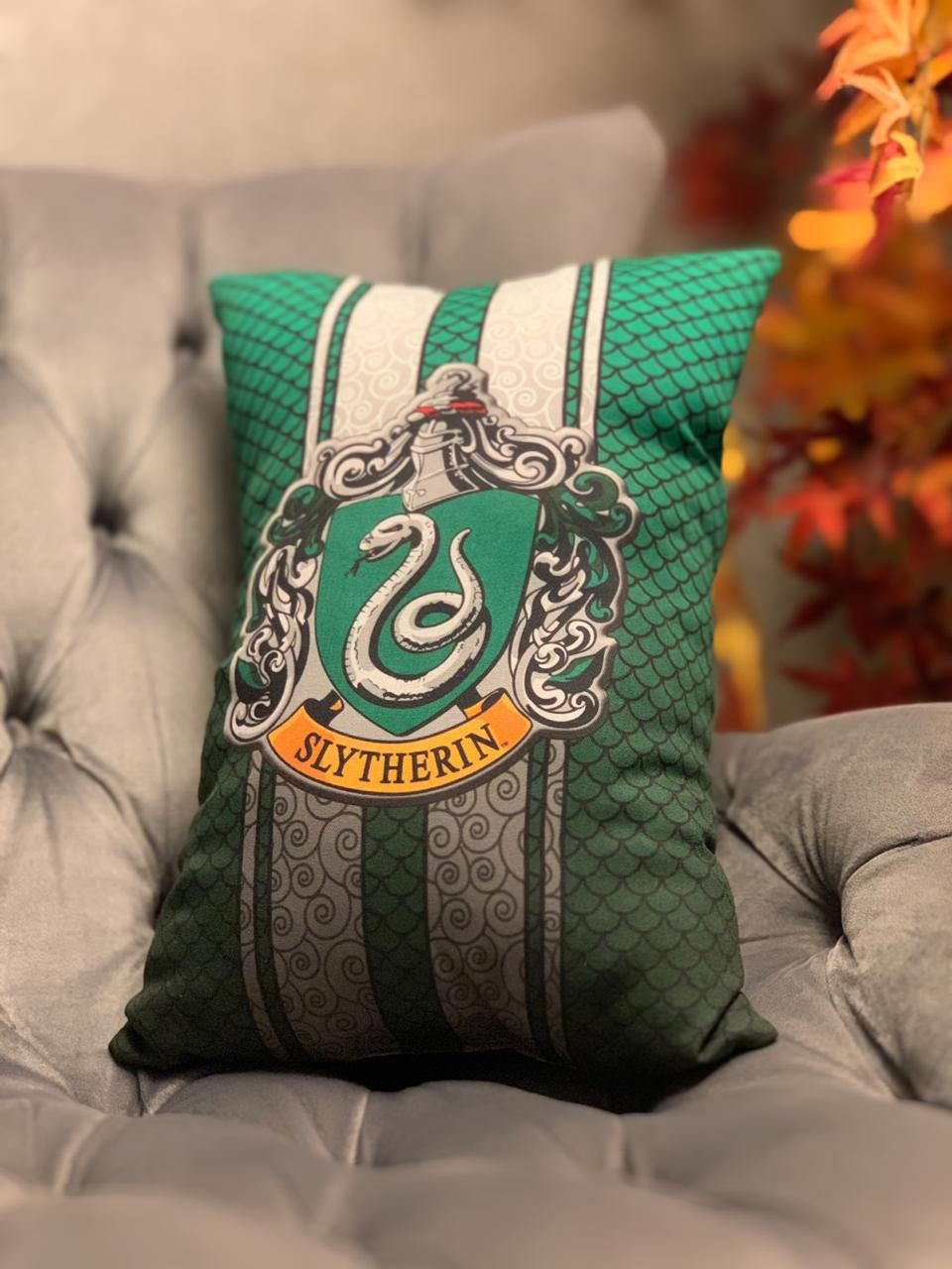 Almofada Sonserina (Slytherin): Harry Potter