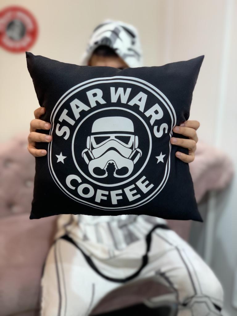 Almofada Star Wars Coffee Stormtrooper: Guerra nas Estrelas - SD