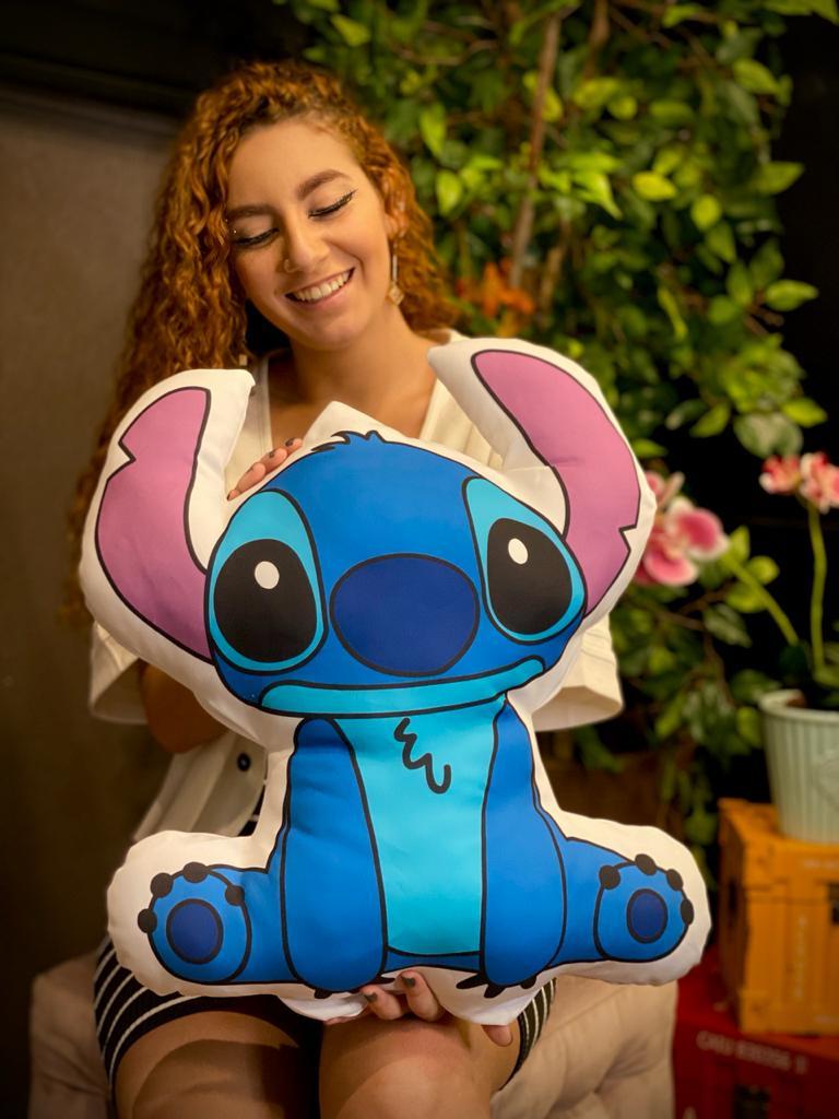 Almofada Stitch: Lilo & Stitch (Silhueta) - Disney - EV
