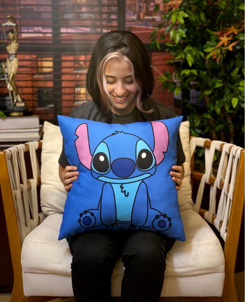 Almofada Stitch Sentado: Lilo & Stitch - EV
