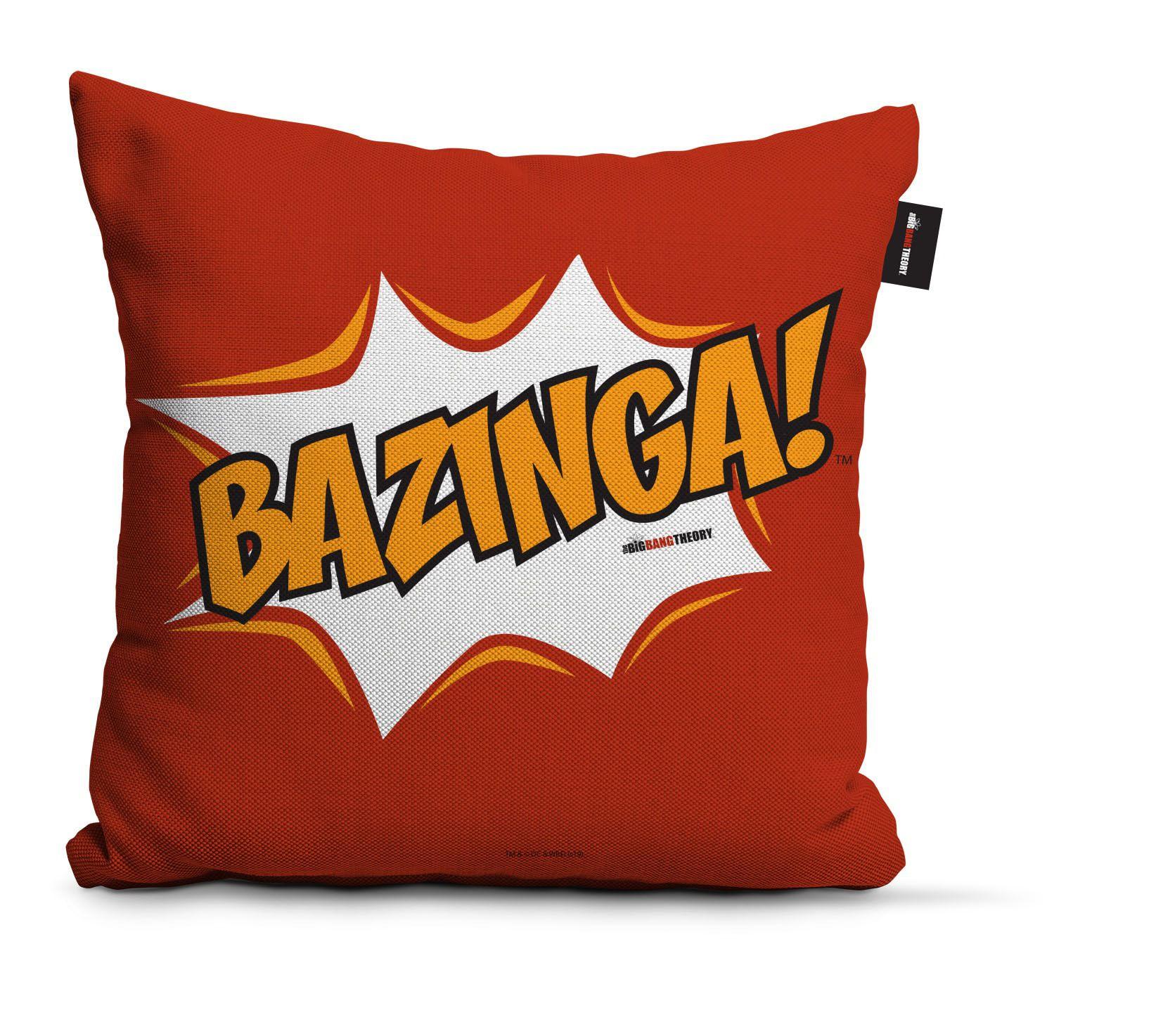 Almofada Vermelho Bazinga: Big Bang Theory - Urban
