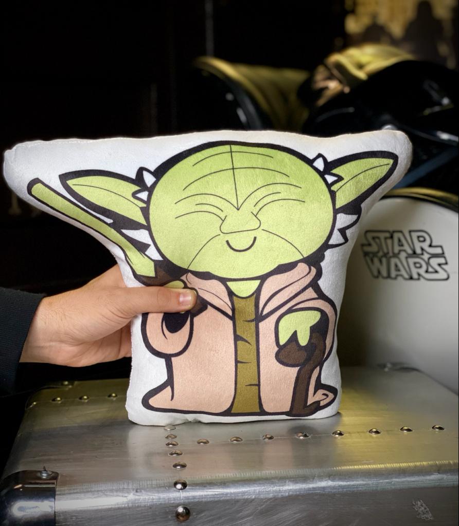 Almofada Yoda Serie Cute Icons: Star Wars - EV