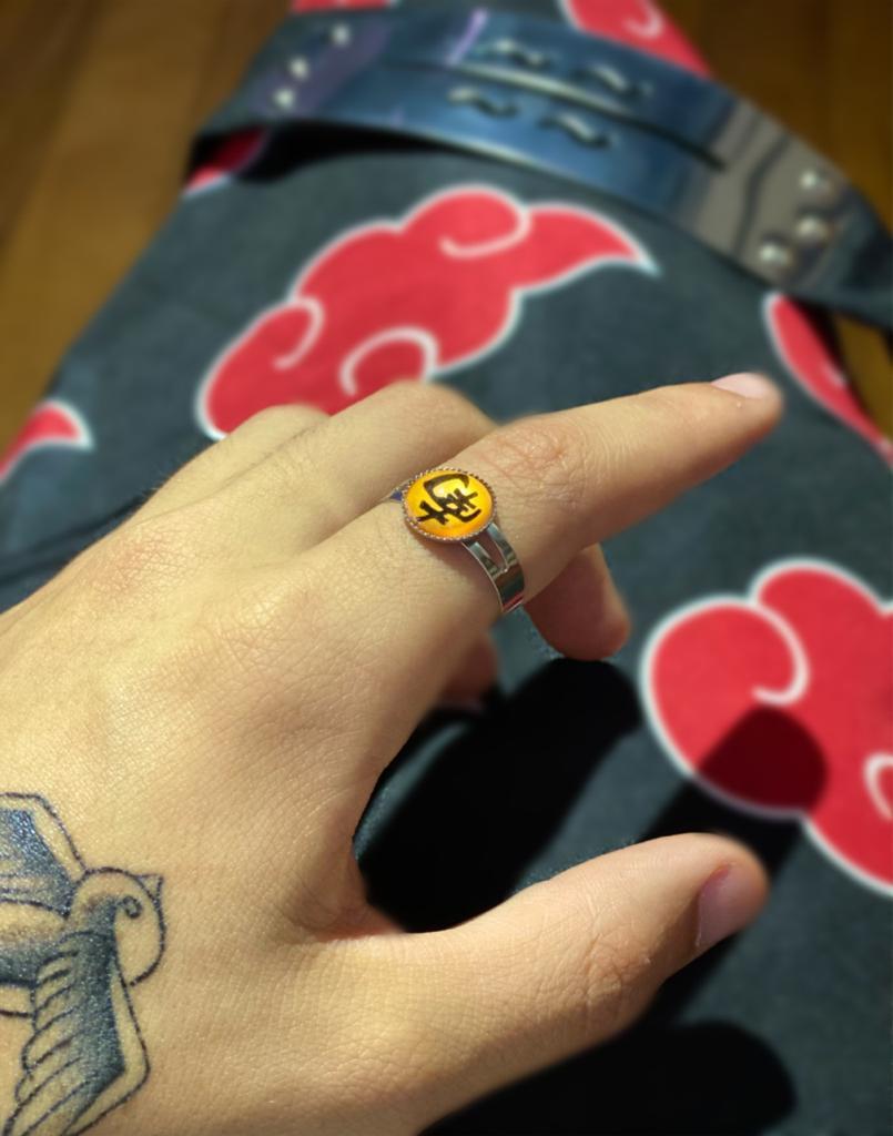 Anel Akatsuki Nan: Kisame - Naruto Shippuden