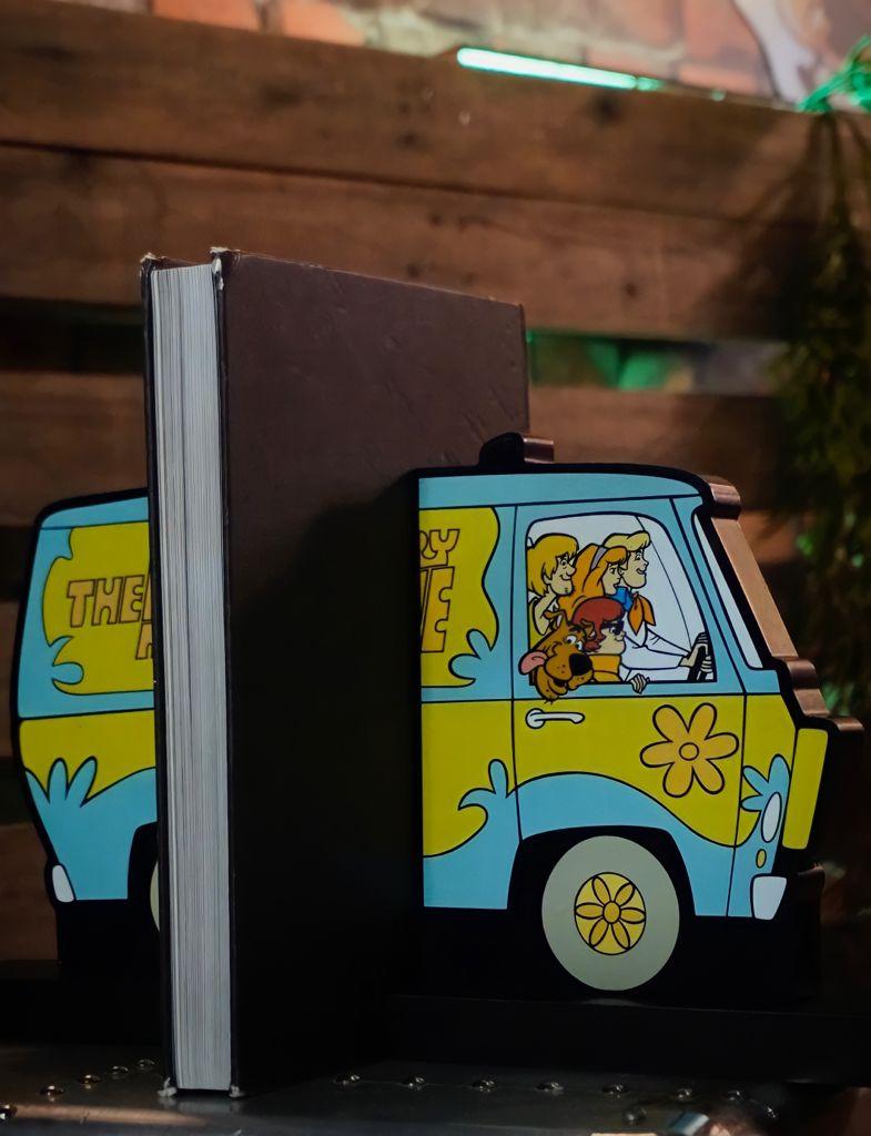 Aparador de Livro 3D Máquina do Mistério: Scooby Doo - Metrópole