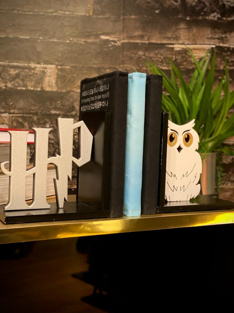 Aparador / Porta livro Coruja HP: Harry Potter